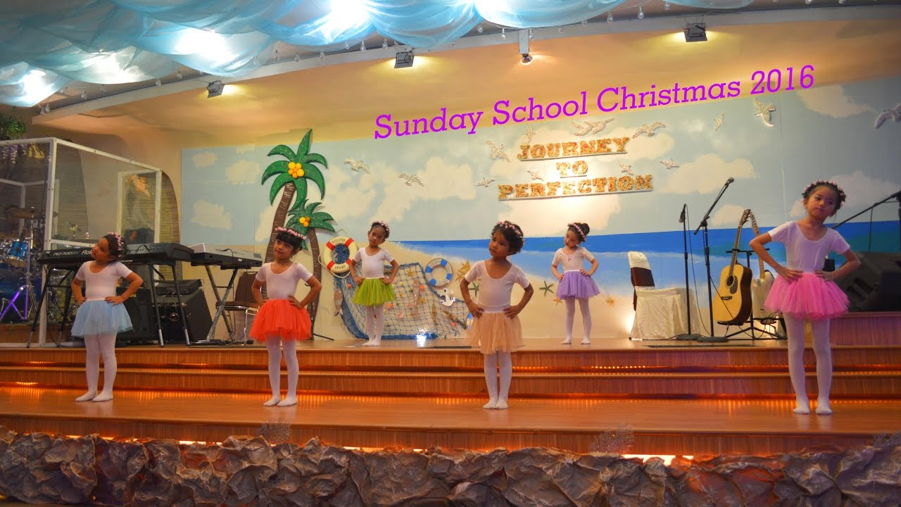 Ibadah Natal Sekolah Minggu 10 12 2016 Youtube