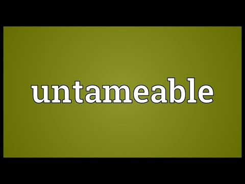 Header of untameable