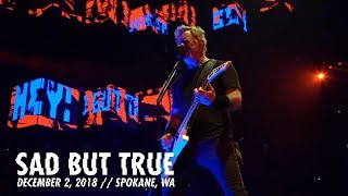 Metallica Sad But True Spokane WA December 2 2018