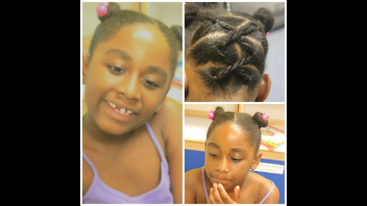Cute Quick Hairstyles easy quick hairstyles for long hair cute and easy hairstyles youtube Back 2 School Kids Hairstyle Easy Quickand Cute Watch Me Work