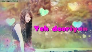Yeh Dooriyan female version whatsapp video status