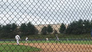 Eric Gomez baseball-Hershey double in semis