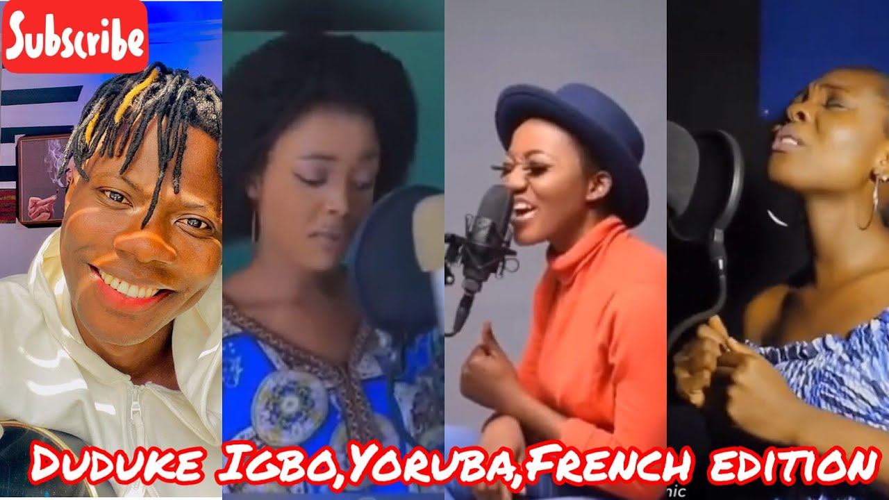 Download DUDUKE IGBO, YOURBA, FRENCH AND PIGIN COVER