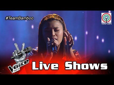 The Voice Teens Philippines Live Show: Queenie Ugdiman - Itanong Mo Sa Mga Bata