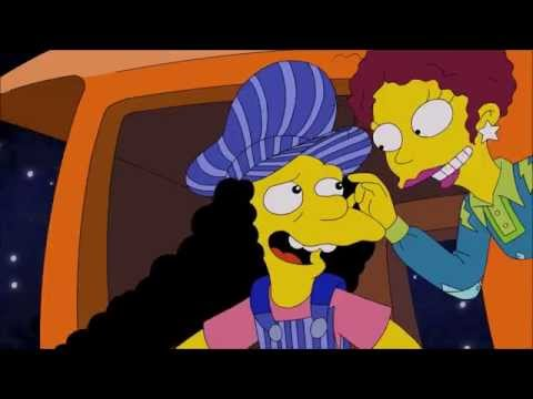 Simpsons Magic School Bus / Train - Otto on LSD (Acid, Trips)