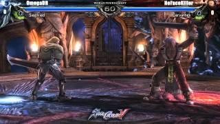 OmegaDR vs NoFaceKiller - $10k SoulCalibur V World Tournament