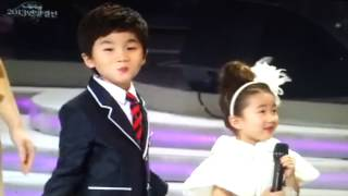 전국노래 연말결선 최연소참가자