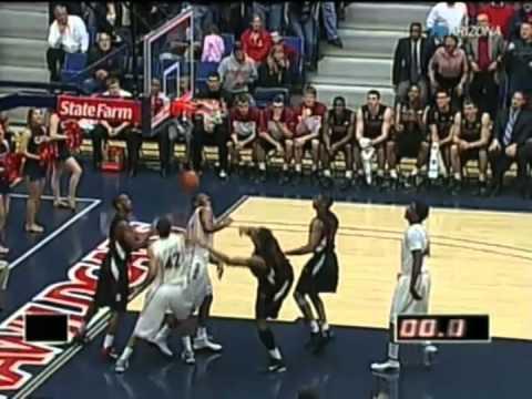 2010/2011 Arizona Basketball vs Stanford