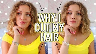 WHY I CUT MY HAIR SHORT...Let's Talk About Hair Loss