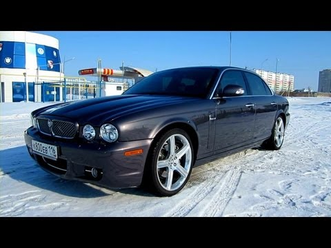 2008 Jaguar XJ. Start Up, Engine, and In Depth Tour.