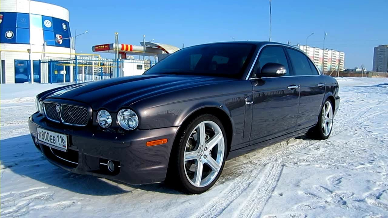 2008 Jaguar XJ. Start Up, Engine, and In Depth Tour. - YouTube