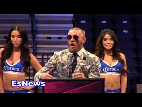 conor mcgregor full post fight EsNews Boxing