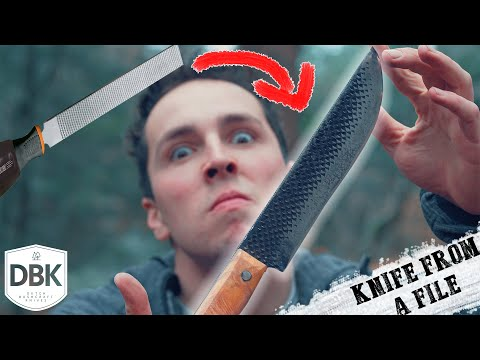 A Knife From A FILE!? MYTH BUSTED!