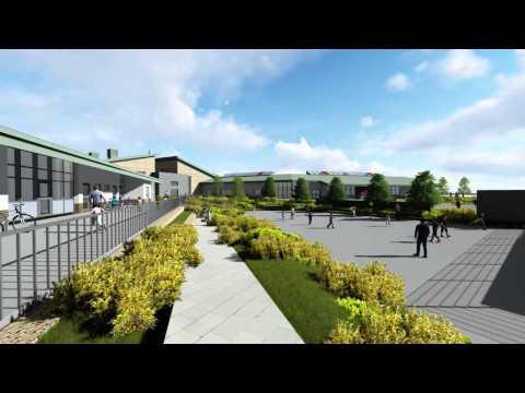Glasdir School Development, Ruthin, Denbighshire