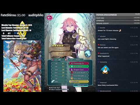【Fire Emblem Heroes】 Finishing Hero Reviews! Stream Crashed! Come Chat and Chill! :D