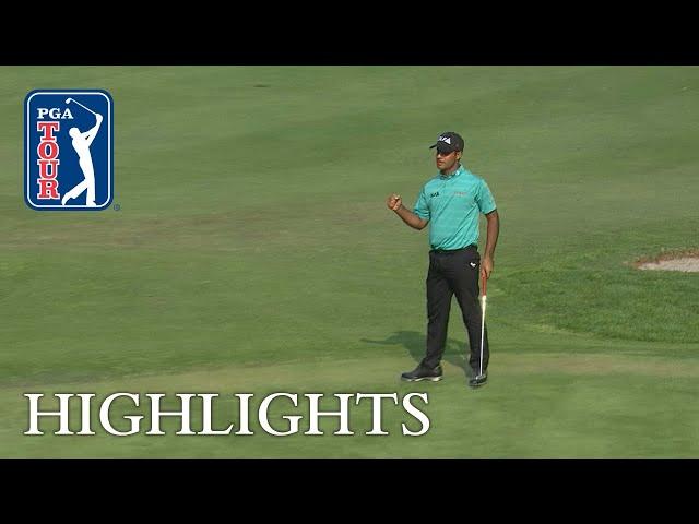 Shubhankar Sharma's extended highlights | Round 2 | Mexico Championship