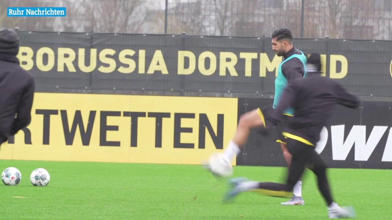 Neuzugang Emre Can steigt ins BVB-Training ein