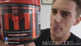 MTS NEW Reformulated Clash Pre-Workout Supplement - MassiveJoes.com RAW REVIEW Nutrition Machine