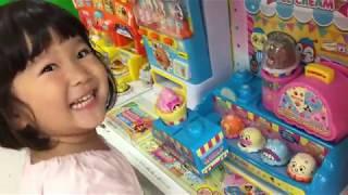 リアル おかいものごっこ おもちゃ屋さん いっぱいのおもちゃ なにをかうかな?