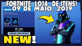 Shop of items Fortnite-today's shop 09/05/2019 new Skin