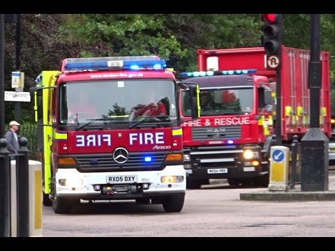 London Fire Brigade Convoy - USAR Deployment