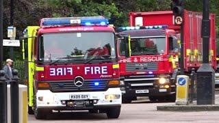 London Fire Brigade Convoy - USAR Deployment