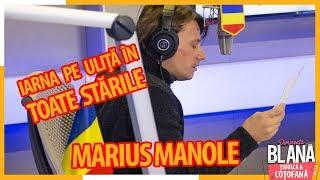 """Marius Manole recita &quotIarna pe ulita"""" in toate starile I #DimineataBlana"""