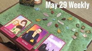 29th May Weekly Crystals Cards Connections with Joanna 🙏🏻🙏🏻