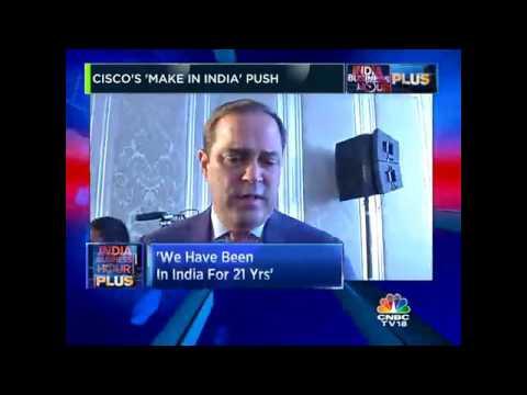 Cisco's 'Make In India' Push