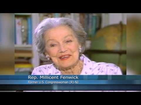 Congresswoman Millicent Fenwick Interview, 1991