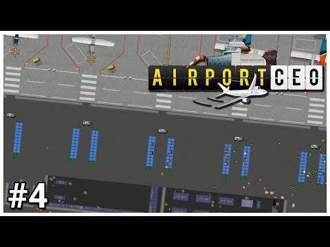 Airport CEO - #4 - Duty Free - Let's Play / Gameplay / Construction