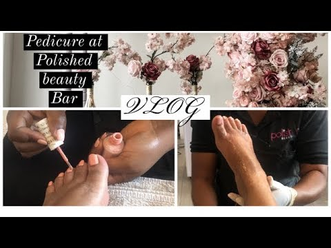 COME WITH ME TO GET A PEDICURE | FAMOUS BEAUTY SPA IN ACCRA | Accra vlog
