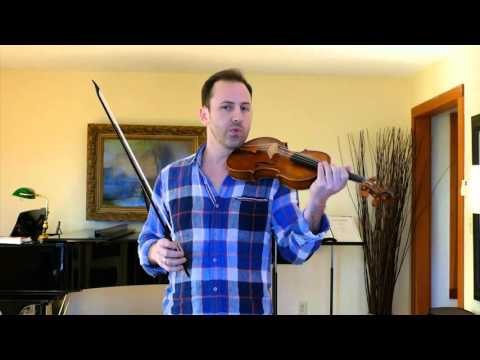 Holding the baroque violin
