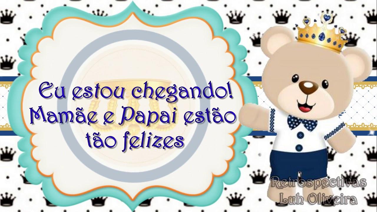 Convite Animado Ursinho Principe Youtube