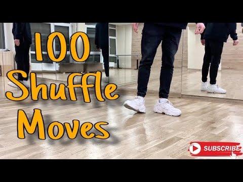 100 Shuffle Moves | 100 Движений Шафл | Все Движения Шафл | PROdance