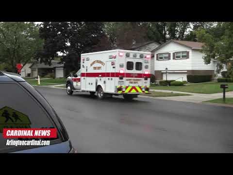 Rollover Delivery Van Crash into Indian Grove Elementary School Parking Lot, Mount Prospect