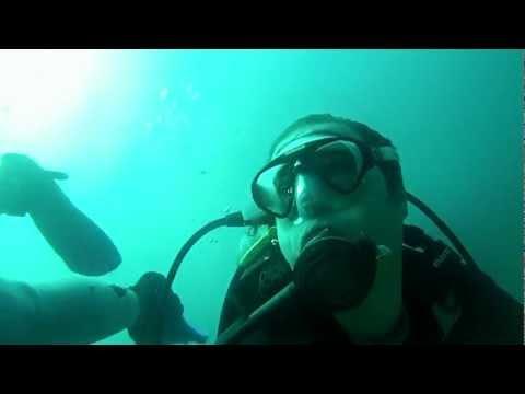 Diving Los Frailes Isla Margarita Venezuela 2013