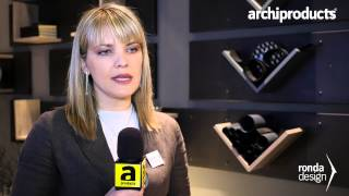 RONDA DESIGN | Sara Appoloni | Archiproducts Design Selection - Salone del Mobile Milano 2015