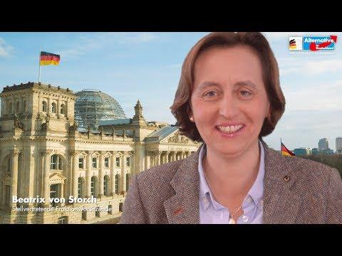 Staat kapituliert vor Afrikaner-Mob! - Beatrix von Storch -  AfD-Fraktion im Bundestag