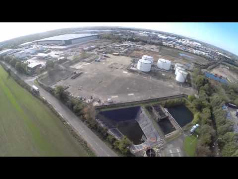Buncefield Oil Depot - DJI Phantom and GoPro