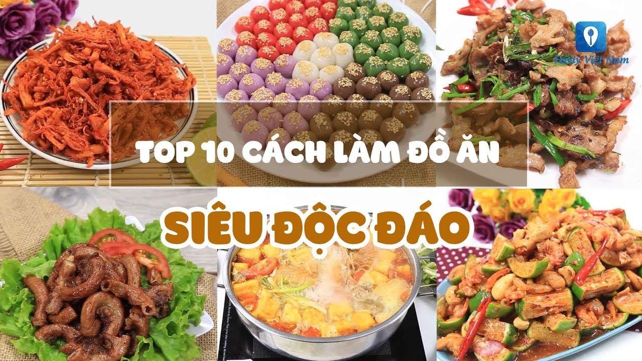 TOP 10 CÁCH LÀM ĐỒ ĂN SIÊU ĐỘC ĐÁO không phải ai cũng biết | Feedy VN