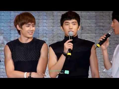 [fancam] 100723 pohang concert -talk KW ver-