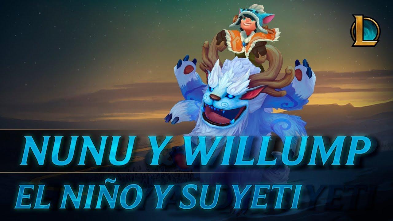 ¡Nunu y Willump a la aventura! | Tráiler de campeón - League of Legends