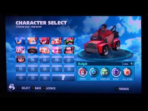 MagicBox: Тест-драйв игры Sonic All Stars Racing Transformed - PS Vita HD