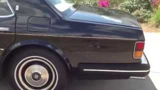 1981 rolls-royce silver spur first year review, starting up, test drive