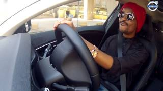 Jerri Mokgofe cruising around town in the new Volvo V40 Cross Country Thumbnail