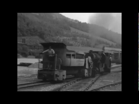 Hütte Donawitz Steiermark   Innerbetrieblicher Bahnverkehr 1974