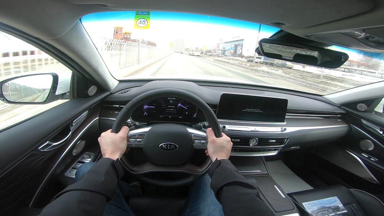 2019 Kia K900 V6 3.3L Premium POV TEST DRIVE