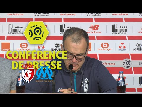 Conférence de presse LOSC - Olympique de Marseille (0-1) - Ligue 1 Conforama / 2017-18