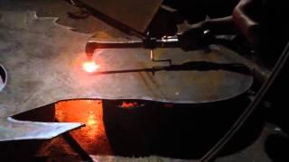 Como cortar chapa  de metal con oxicorte  en 3D